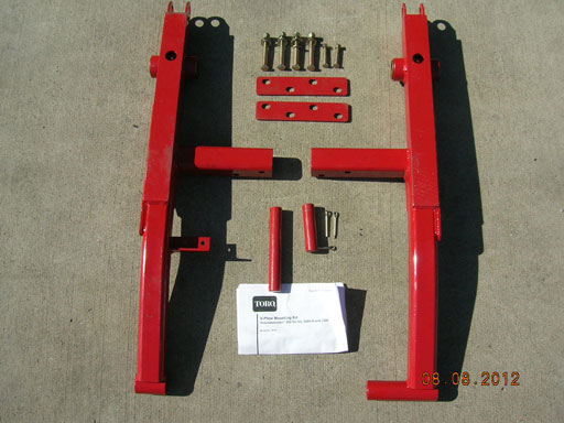 Toro V-Plow Mounting Kit       (EQ-TR30311       )