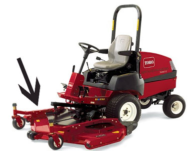 "Toro 62"" Rear Discharge Deck (EQ-TR30367)"