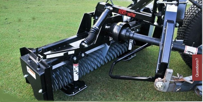 "First Verti-Cutter 60""        <br>2"" Spacing W/Double Roller     (EQ-VC82-009      )"